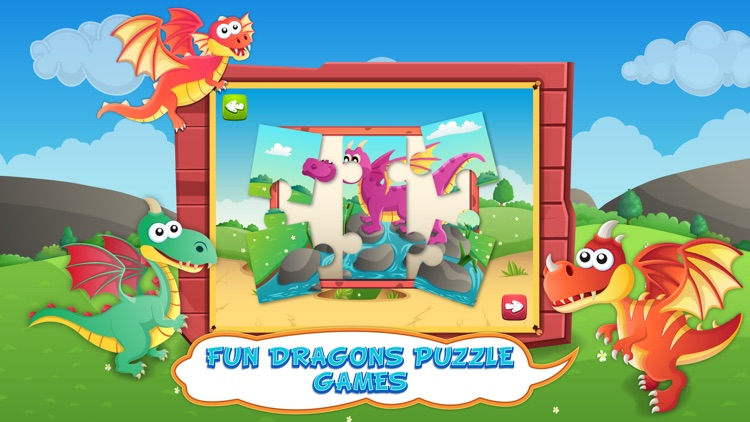 Dragons Activity Center Puzzle Game For Kids by Gil Weiss