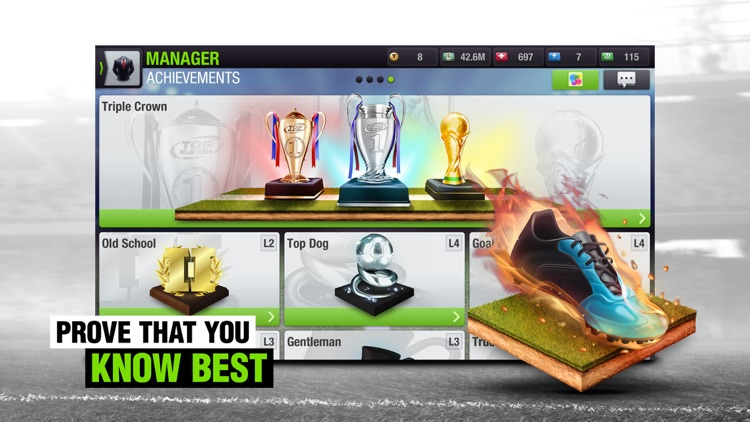 Top Eleven 2018 Soccer Manager screenshot-3