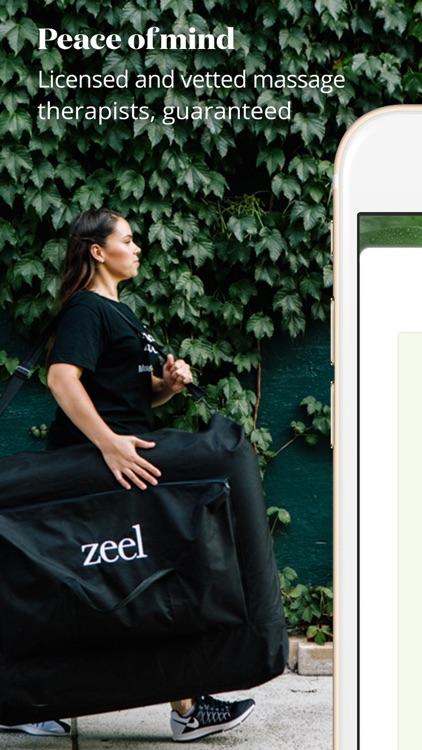 Zeel In-Home Massage Therapist screenshot-3