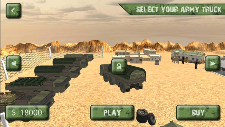 Army Cargo Truck Transport Sim screenshot-0