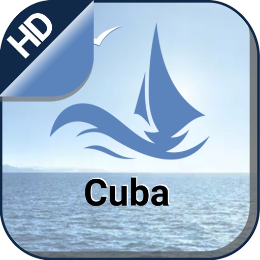 Cuba Nautical Fishing Charts