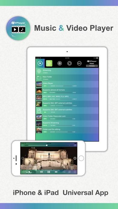 iMvPlayer Music & Video Screenshot