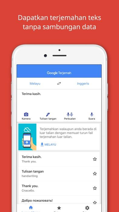 Screenshot for Google Terjemah in Malaysia App Store