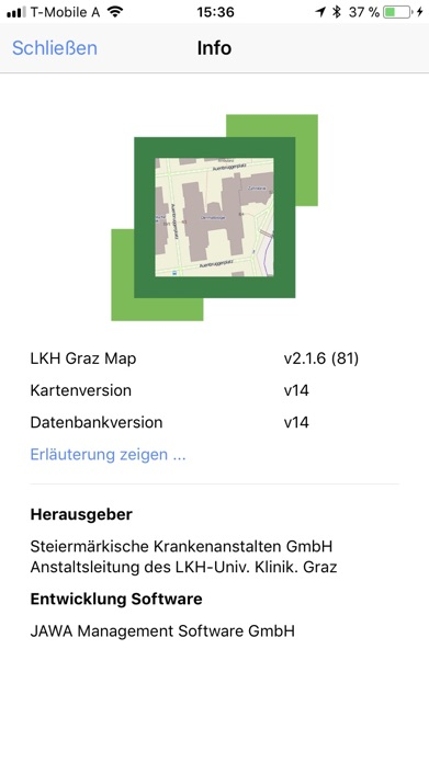 LKH Graz Map Screenshot