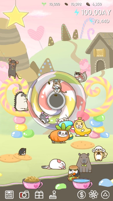 Rolling Mouse -tap tap hamster screenshot two