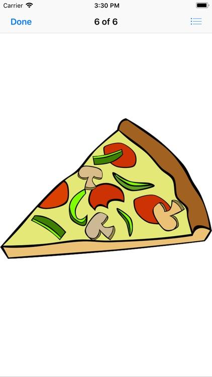 Pizza Sticker Pack screenshot-6