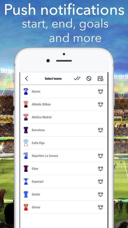 Primera Division Live La Liga screenshot-4