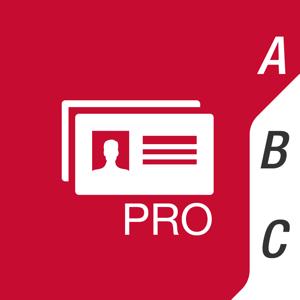 ≡ Business Card Scanner Pro app