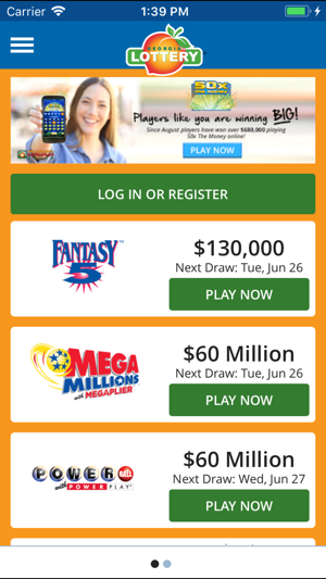 Georgia Lottery Official App on the App Store