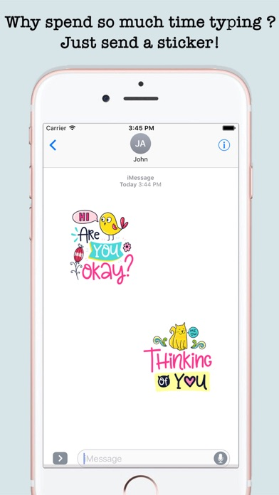 Inspirational Funny Dooodle Quotes & StickersScreenshot of 5