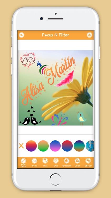 Focus N Filter Original screenshot-3