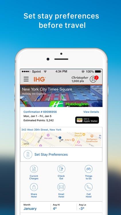 IHG® Hotel Deals & Rewards screenshot-3