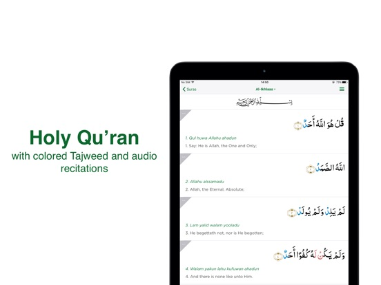 Screenshot #3 for Muslim Pro: Azan, Quran, Qibla