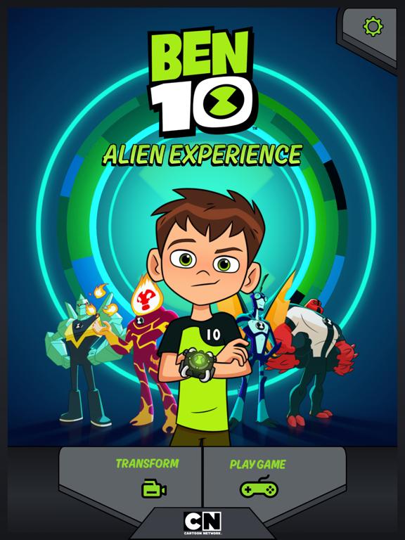 Бен 10 Инопланетная реальность на iPad
