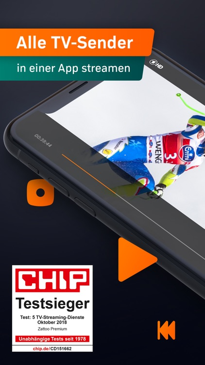 Zattoo - TV Streaming App screenshot-0