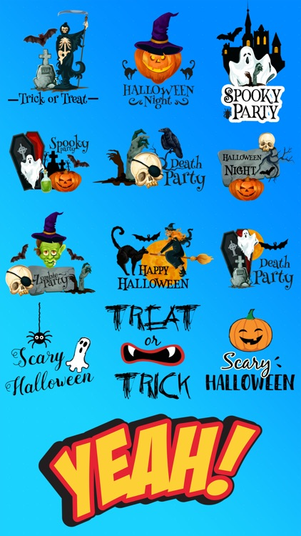 Halloween Festival Stickers screenshot-2