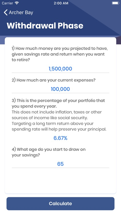 ArcherBay Financial Calculator screenshot-4