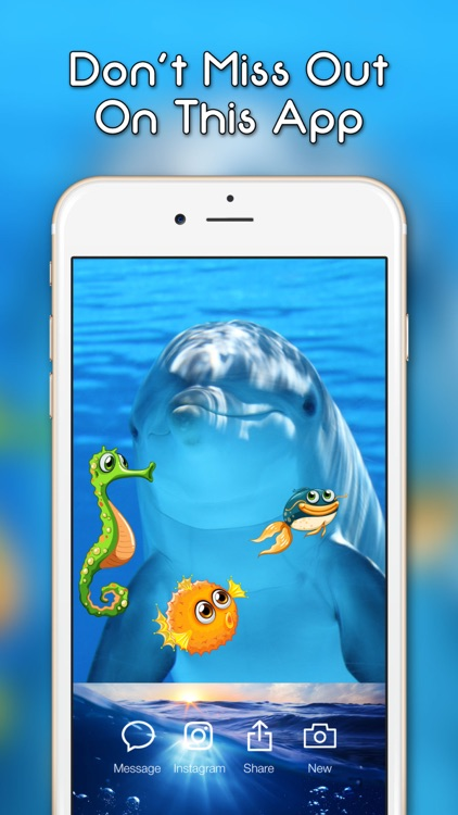 Fish Emoji and Photo Stickers screenshot-3