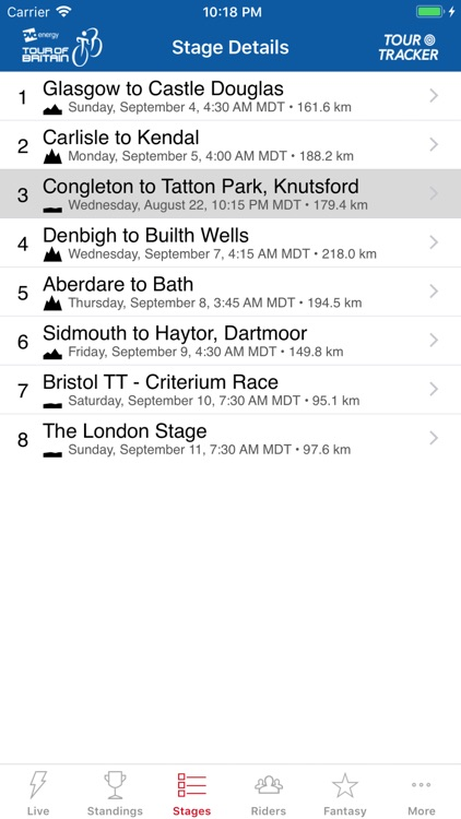 Tour of Britain Tour Tracker screenshot-5