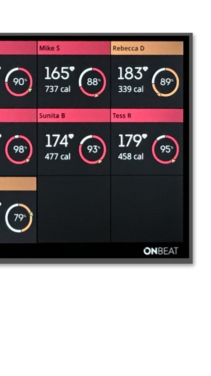 OnBeat - group heart rate app