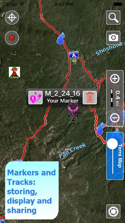 Terra Map Pro GPS Hiking maps screenshot-2