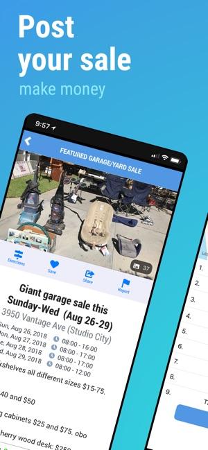 Garage Sale Map - gsalr com on the App Store