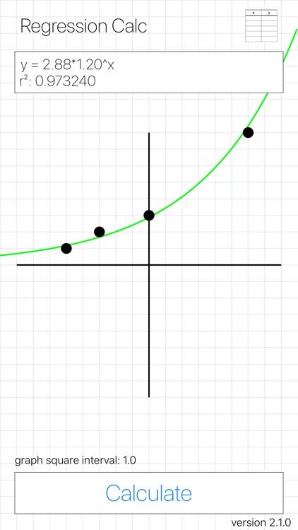 Regression Calc screenshot-3