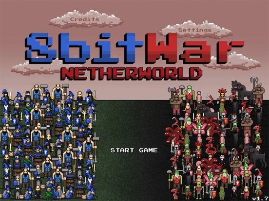 Screenshot #1 for 8bitWar: Netherworld
