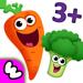 77.趣味食物2 少儿婴幼儿早教育和儿童游戏宝宝益智拼图4