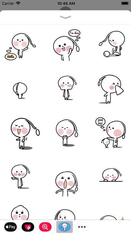 Little Alien Animated Stickers
