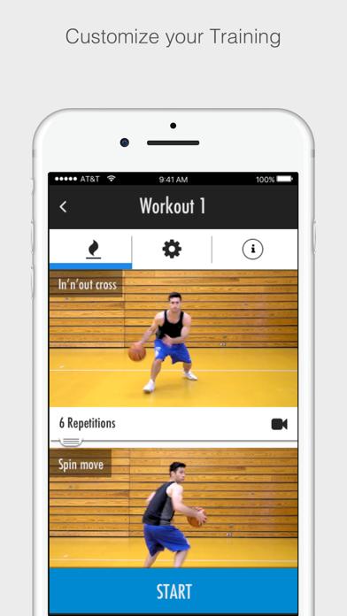 Basketball Advanced Training Screenshot