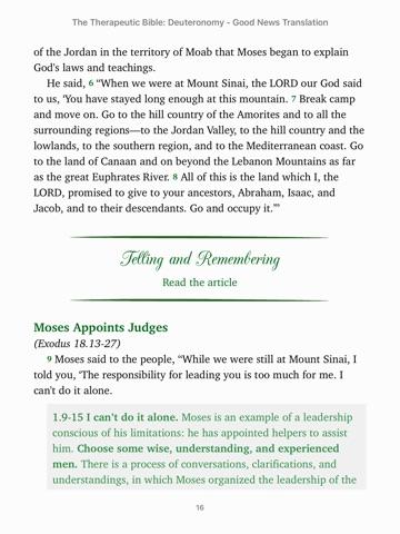 The Therapeutic Bible Deuteronomy By Sociedade Bblica Do Brasil