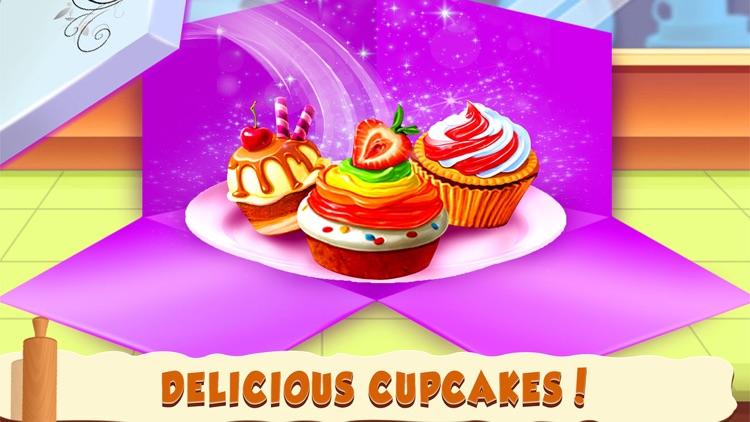 Cupcake Shop Kids cooking Game screenshot-4