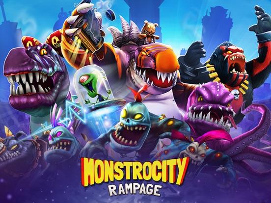MonstroCity: Rampage на iPad