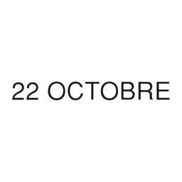 22 OCTOBRE 公式アプリ