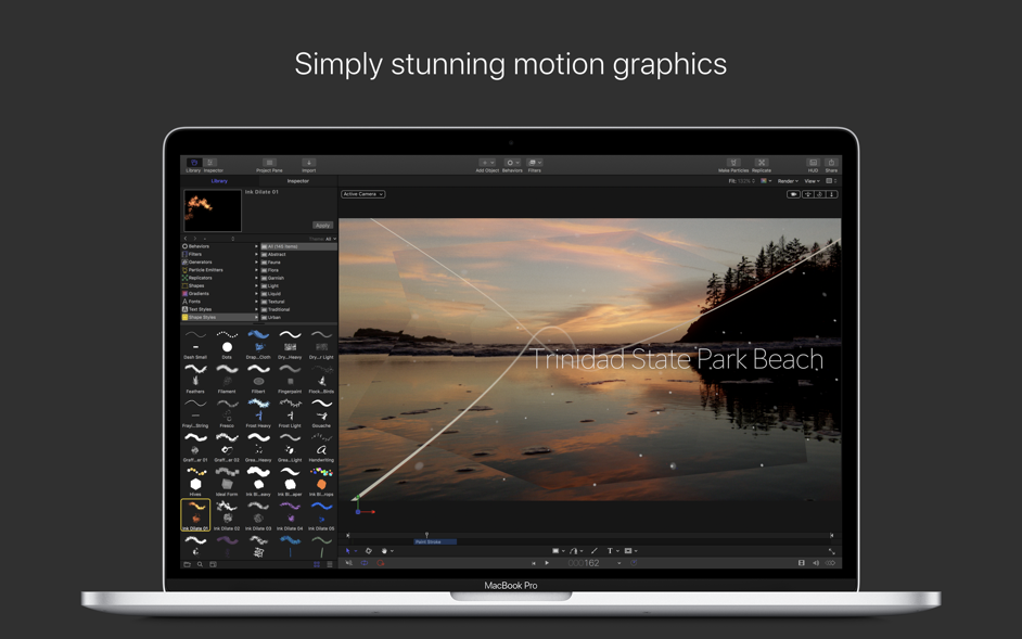 Motion 5 4 3 – Create and customize Final Cut Pro titles