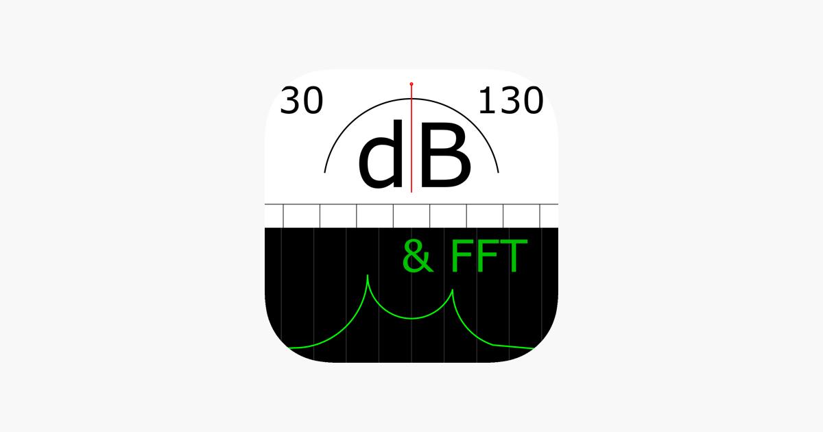 App Store: SPLnFFT <b>Noise Meter</b>