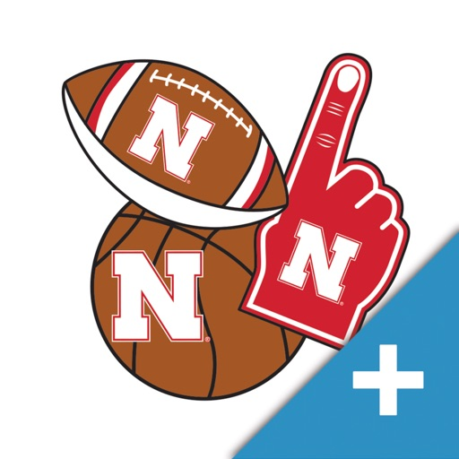 Nebraska Cornhuskers PLUS Selfie Stickers