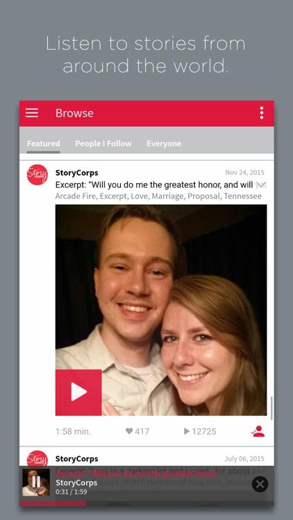 StoryCorps screenshot-3