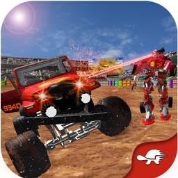 Monster Truck Robot Warrior