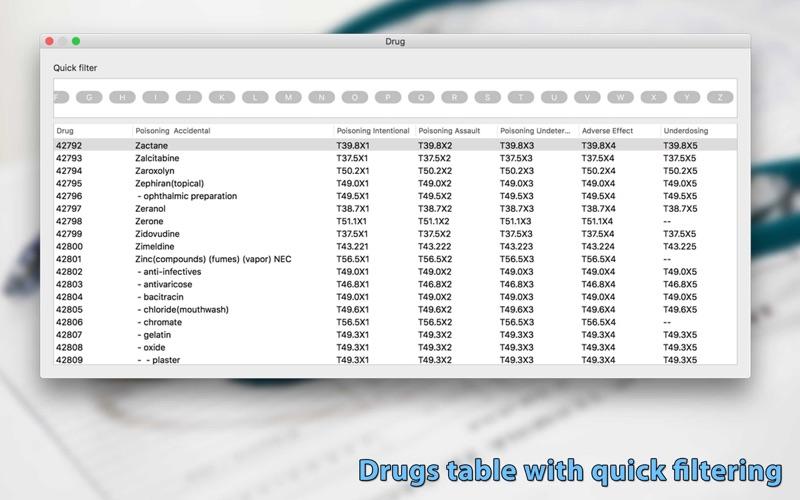 ICD Offline Database скриншот программы 5