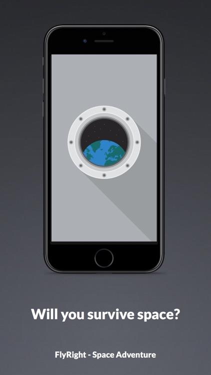 FlyRight - Space Adventure screenshot-4