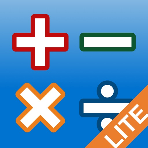 AB Math lite - fun games for kids: times tables