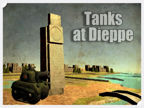 Image of Tanks at Dieppe for iPad