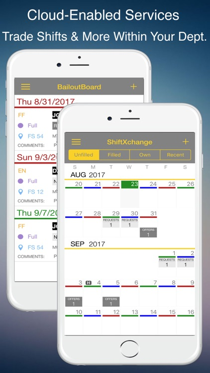 FireSync Shift Calendar screenshot-2