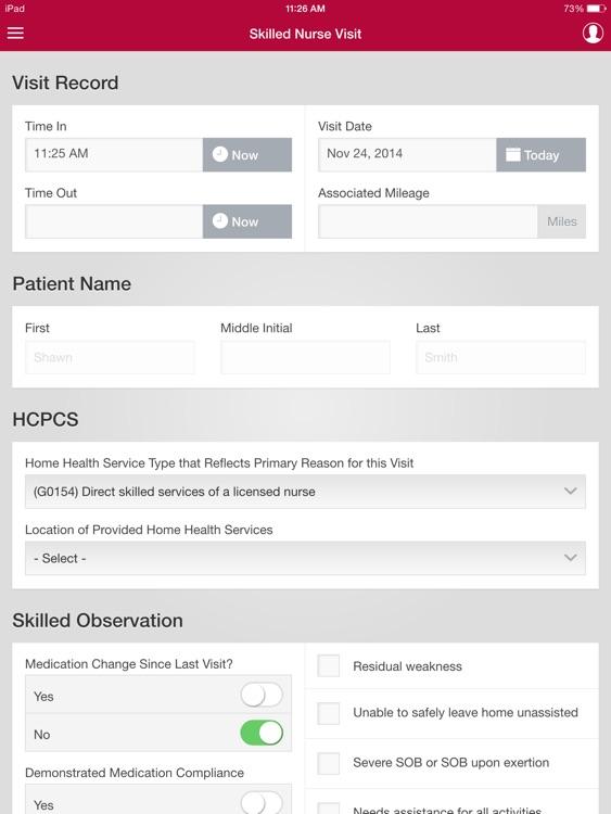 WellSky HHH Offline screenshot-4