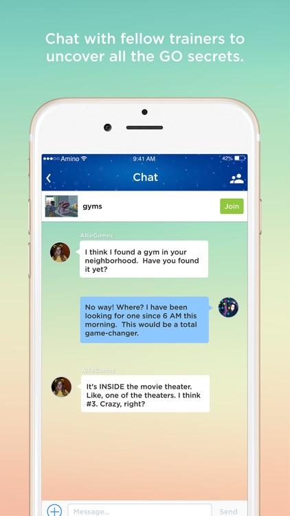 Go Amino for Pokémon Go Chat
