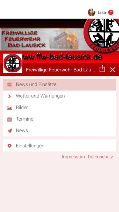 Feuerwehr Bad Lausick screenshot 2