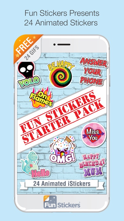 Fun Stickers Starter Pack screenshot-0