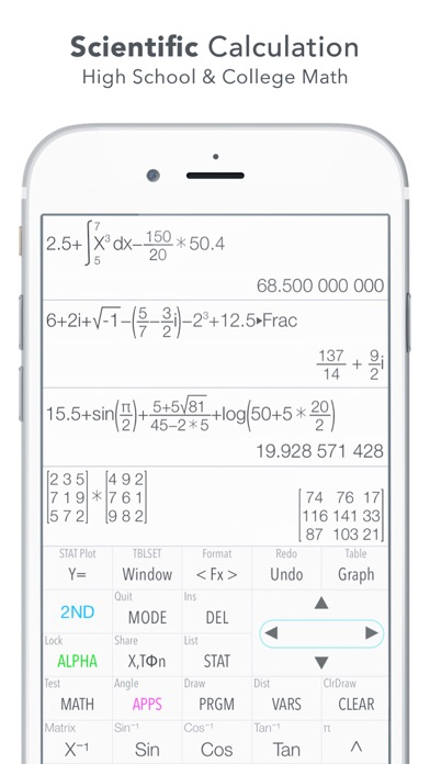 Screenshot for Graphing Calculator Plus in Indonesia App Store